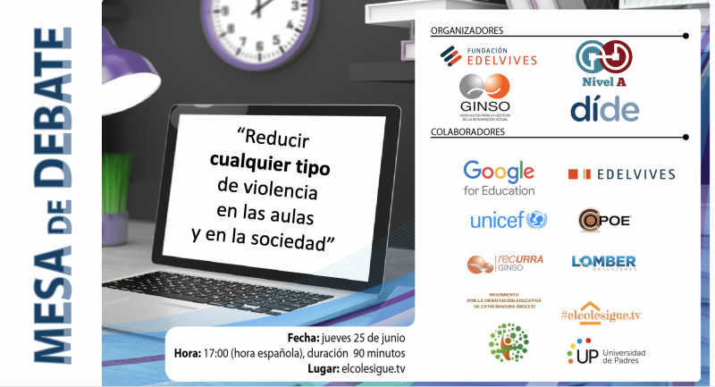 Mesa de debate: infancia sin violencia, una cuestión de derechos del niño
